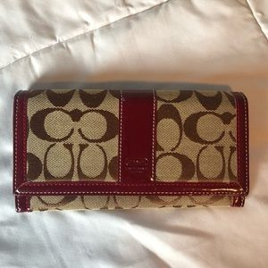 Used Coach wallet in great condition